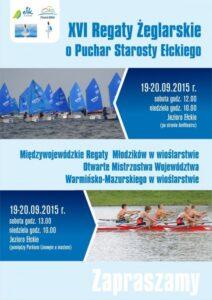 Jezioro Ełckie areną walki oPuchar Starosty