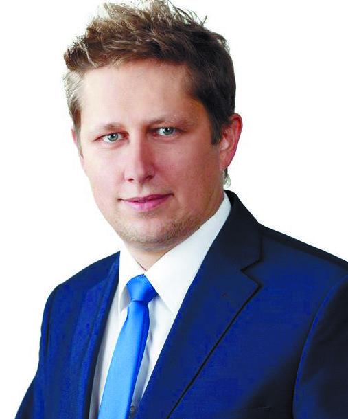 Michał Tyszkiewicz radny miasta Ełku-PiS