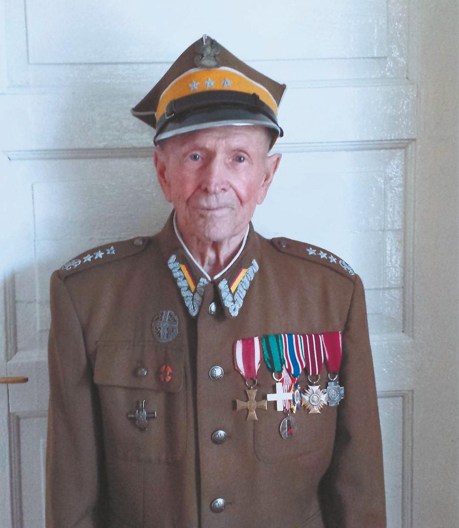 Nalborski niebył w9 Pułku Strzelców Konnych AK iniebrał udziału wwalkachtego pułku – mówi pan Franciszek Duba